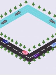 road background vehicle traffic illustration background color background , Road Background, Vehicle, Hand Imagem de fundo