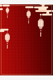 Chinese style simple red festive New Year Peach Imagem Do Plano De Fundo