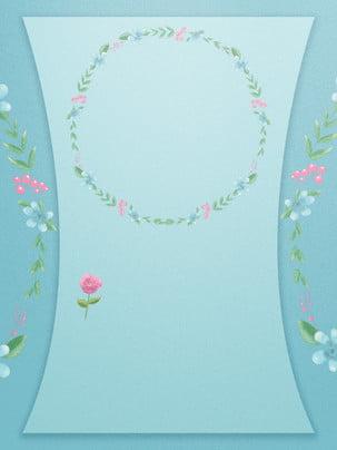 廣告背景 清新 植物 小花 , 樹葉, 植物, 廣告背景 背景圖片