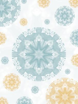 vector background ethnic flower pattern , White, Vector Background, Pattern Imagem de fundo