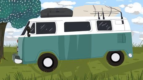 観光 旅行 自動運転 春, 自動運転, 観光, ゲストの背景 背景画像