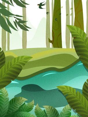 creek spring spring swallow , Celebrate Background, Psd Background, Background Panels ภาพพื้นหลัง