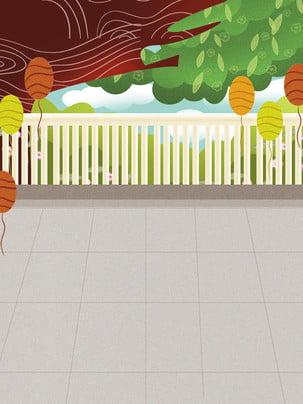 हरे पत्ते गुब्बारा बाड़ हाथ से तैयार की गई पृष्ठभूमि , ब्याज पृष्ठभूमि, वसंत, हाथ से तैयार की गई पृष्ठभूमि पृष्ठभूमि छवि