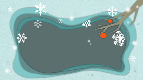 Snowflake winter paper cut background painted background Snowflakes Design Background Фоновое изображение