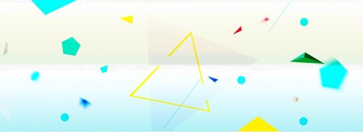 Geometric polygon gradient banner background Gradient Geometric Polygon Фоновое изображение