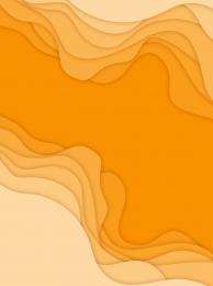 gradient overlay paper cut orange curve , Overlay, Orange, Effect Фоновый рисунок