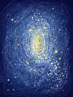 Starry blue đẹp nền đầy sao Thiết Kế Nền Hình Nền
