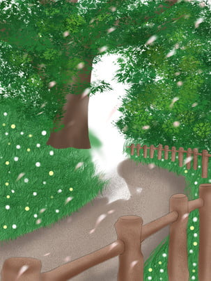woods grass outdoor green leaves , Promotional Background, Woods, Drawn ภาพพื้นหลัง