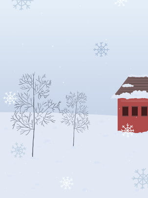 hand drawn winter tree snowflake , Advertising, Drawn, Tree Imagem de fundo