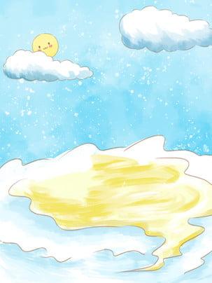 snow winter snow white clouds , Sun, Snowing, Winter Imagem de fundo