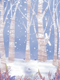 winter winter snow woods , Snow, Background Illustration, Snowing zdjęcie w tle