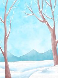 woods snow blue trunk , Background Design, Invitation Background, Hand Imagem de fundo