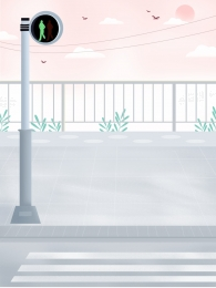 Vẽ tay đường nền thành phố nền du lịch văn minh Liệu đèn Giao Hình Nền