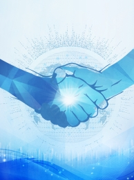 handshake cooperation tall technology , Business, Business, Background Imagem de fundo