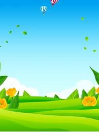 Nền minh họa nền phong cảnh nền hoa rừng Vui Nền Tươi Hình Nền