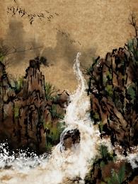 山川マップ 油絵風景 油絵 風景 , 朝日, インテリア絵画, Weizheng山川 背景画像