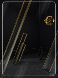 original c4d low key black gold , Geometric, Advertising, Background Imagem de Fundo