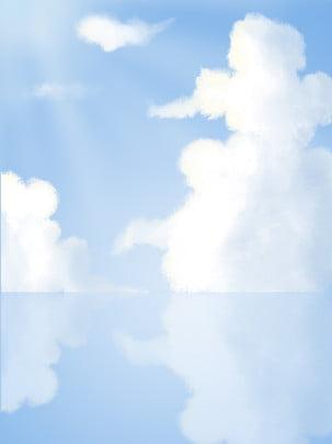 मूल हाथ से पेंट मोबाइल फोनों के लिए हवा बादल , आकाश, एनीमे, आकाश पृष्ठभूमि छवि