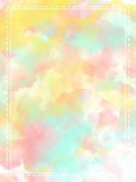soft color watercolor watercolor background border background watercolor , Original, Watercolor Background, Soft Imagem de fundo