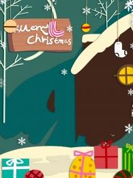 gift christmas christmas present snowflake , Painted Background, Christmas, Painted Imagem de fundo