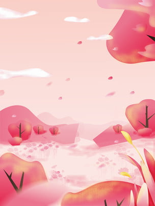 spring spring grove pink , Pink, Psd Background, Sakura ภาพพื้นหลัง