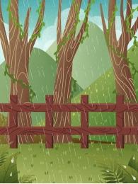 vẽ tay nền nền rừng nền rừng nền lá , Nền Xanh, Nền Rừng, Tươi Ảnh nền