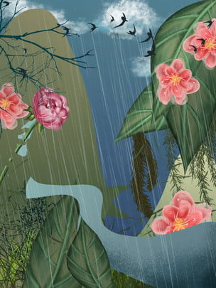 Nền phong cảnh hoa nền tươi nền rừng nền rừng Nền Phong Cảnh Hình Nền