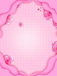 廣告背景 清新 粉色 花朵 花瓣 玫瑰花 清新背景圖庫