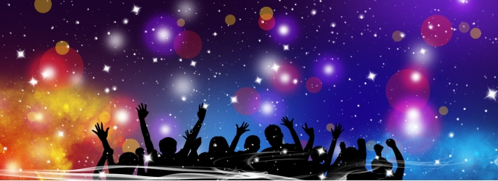 background people party lights, Silhouette, Design, Characters Фоновый рисунок