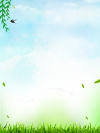 simple fresh spring landscape , Background, Landscape, Colorful Background ภาพพื้นหลัง