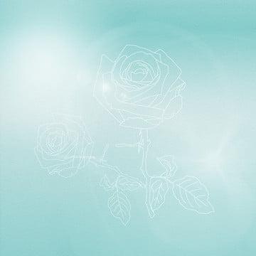 小さな新鮮な緑 花 明るい背景 小さな新鮮な白い花バラの花の背景 , 小さな新鮮な白い花バラの花の背景, 小さな新鮮な緑, 花 背景画像