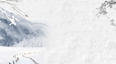 snow background hand drawn background snowy day background blue background, Landscape Background, Hand Drawn Background, Blue Sky And White Clouds Imagem de fundo