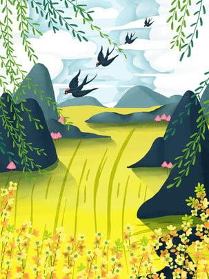 swallow wicker farm grass , Swallow, Fresh Background, Design ภาพพื้นหลัง