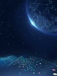 Tech Background Dark Blue Shading, Earth, Background, Dark Blue, Background image