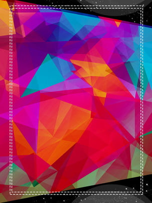 dynamic beautiful gradient geometry , Polygon, Geometric, Colorful ภาพพื้นหลัง
