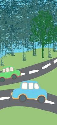an toàn giao thông minh họa du lịch nền khách nền phổ quát , Nền Khách, Du, Nền Phổ Quát Ảnh nền