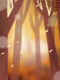 woods mimpi cantik pokok besar , Belakang, Woods, Bentuk imej latar belakang