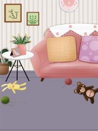 घर कमरे में रहने वाले सोफा घर , सोफा, वाले, रहने पृष्ठभूमि छवि