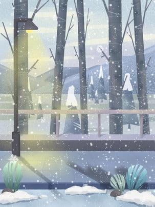 snow winter winter traditional solar terms , Design, Background Panels, Winter Imagem de fundo