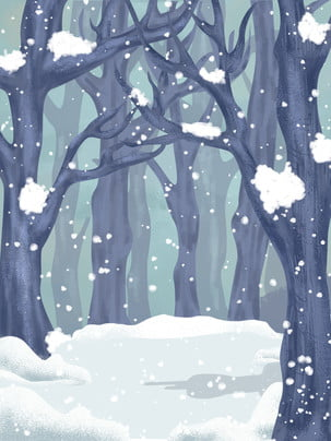 winter snow snow snow , Winter, Background Design, Woods zdjęcie w tle