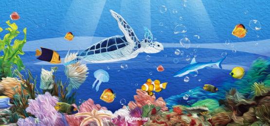 海 水中 魚 コーラル 背景, 海, 水の体, ダイビング 背景画像