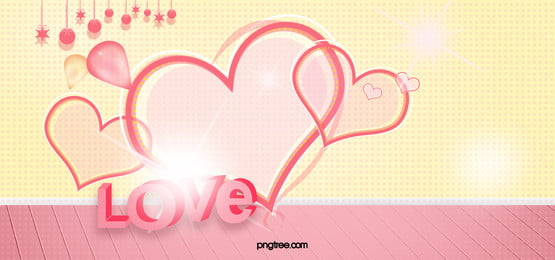 Romantic Wedding Hearts Background, Love, Pink, Hearts, Background image