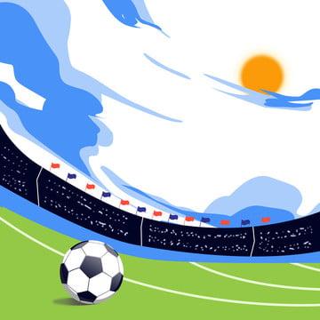 दबंग फुटबॉल के मैदान के बैनर पृष्ठभूमि , गति, विज्ञापन, बिजली आपूर्तिकर्ता पृष्ठभूमि छवि