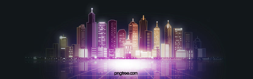 Business district A Noite Cidade Skyline Background Urban Arquitetura No Imagem Do Plano De Fundo