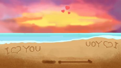 bãi biển mặt trời khi mặt trời lặn  Đại dương  nền, Cát, Những đám Mây, Mặt Trời Mọc. Ảnh nền