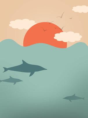 mặt trời khi mặt trời lặn  ngôi sao  trên bầu trời  nền , Thiên Thể, Biển, Đại Dương. Ảnh nền
