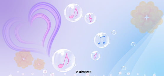 musical background, Bubble, Line, Heart Background image