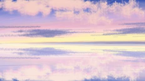 Đại dương  nước biển xóa nền, Ánh Sáng., Phản Xạ, Sóng Gợn Ảnh nền