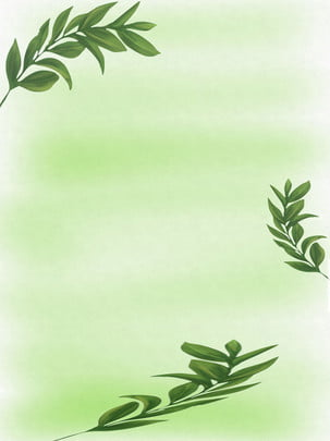 green leaves , Green, Leaves, Poster Background image