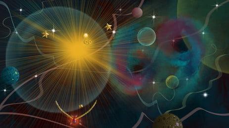शानदार सितारों के काले पांच उठाई सितारा, कल्पना, सितारों, काले पृष्ठभूमि छवि